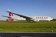 Qatar Airways Cargo Boeing 777-FDZ (A7-BFE) at  Luxembourg - Findel, Luxembourg