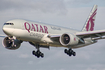Qatar Airways Cargo Boeing 777-FDZ (A7-BFH) at  Luxembourg - Findel, Luxembourg