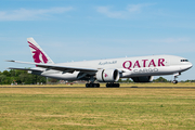 Qatar Airways Cargo Boeing 777-FDZ (A7-BFK) at  Maastricht-Aachen, Netherlands