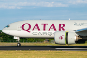 Qatar Airways Cargo Boeing 777-FDZ (A7-BFP) at  Maastricht-Aachen, Netherlands