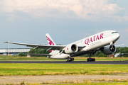 Qatar Airways Cargo Boeing 777-FDZ (A7-BFQ) at  Maastricht-Aachen, Netherlands