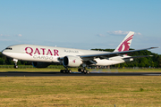 Qatar Airways Cargo Boeing 777-FDZ (A7-BFS) at  Maastricht-Aachen, Netherlands