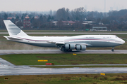 Qatar Amiri Flight Boeing 747-8KB(BBJ) (A7-HBJ) at  Dusseldorf - International, Germany