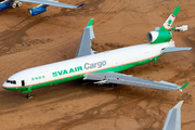 EVA Air Cargo McDonnell Douglas MD-11F (B-16108) at  Victorville - Southern California Logistics, United States