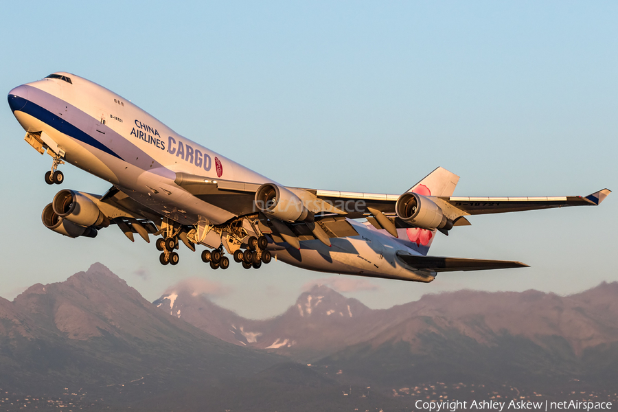 China Airlines Cargo Boeing 747-409F (B-18721) | Photo 117208