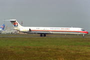 China Eastern Airlines McDonnell Douglas MD-82 (B-2107) at  Guangzhou - Baiyun (closed), China
