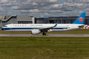 China Southern Airlines Airbus A321-253NX (B-30EE) at  Hamburg - Finkenwerder, Germany