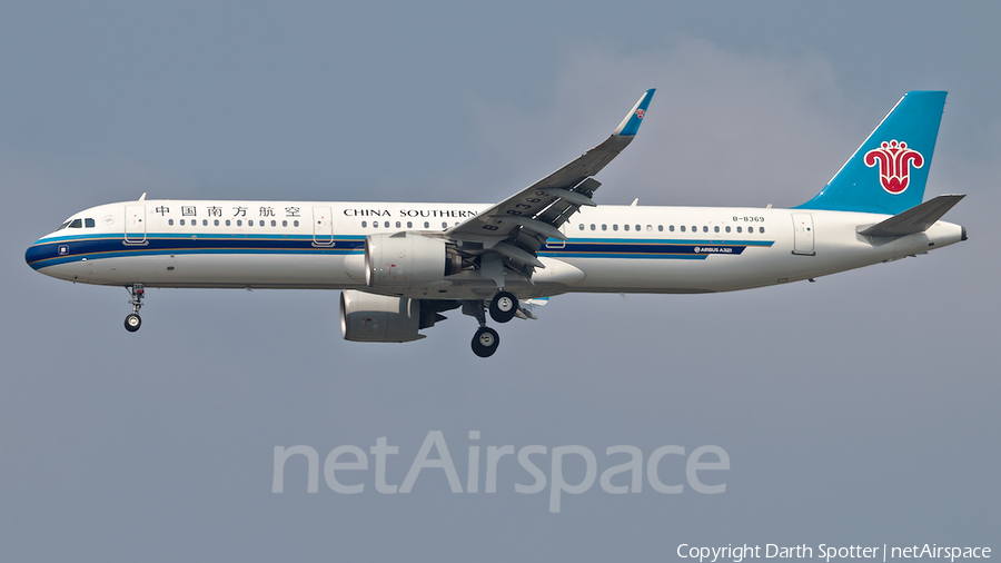 China Southern Airlines Airbus A321-271N (B-8369) | Photo 318060
