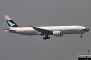 Cathay Pacific Boeing 777-267 (B-HNB) at  Hong Kong - Chek Lap Kok International, Hong Kong