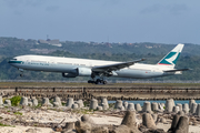 Cathay Pacific Boeing 777-367 (B-HNQ) at  Denpasar/Bali - Ngurah Rai International, Indonesia