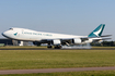 Cathay Pacific Cargo Boeing 747-867F (B-LJB) at  Amsterdam - Schiphol, Netherlands