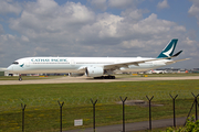 Cathay Pacific Airbus A350-1041 (B-LXL) at  Manchester - International (Ringway), United Kingdom