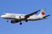Air Canada Jetz Airbus A320-211 (C-FPWE) at  Los Angeles - International, United States