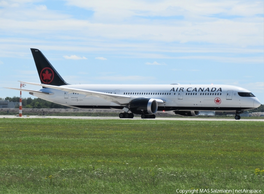 Air Canada Boeing 787-9 Dreamliner (C-FRTG) | Photo 393525