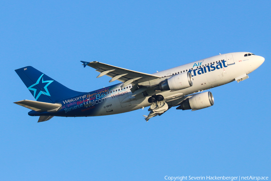 Air Transat Airbus A310-308 (C-GFAT) | Photo 190143