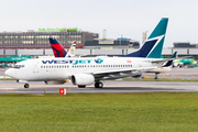 WestJet Boeing 737-7CT (C-GVWJ) at  Dublin, Ireland