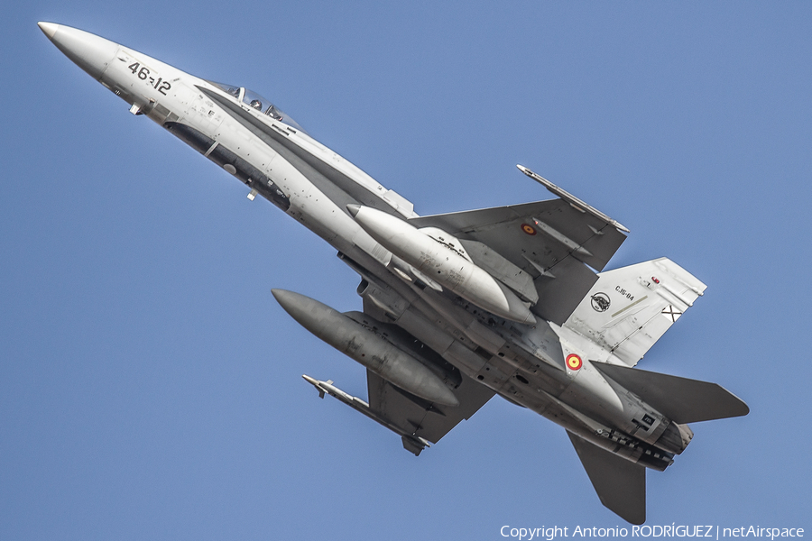 Spanish Air Force McDonnell Douglas F/A-18A+ Hornet (C.15-84) | Photo 415636