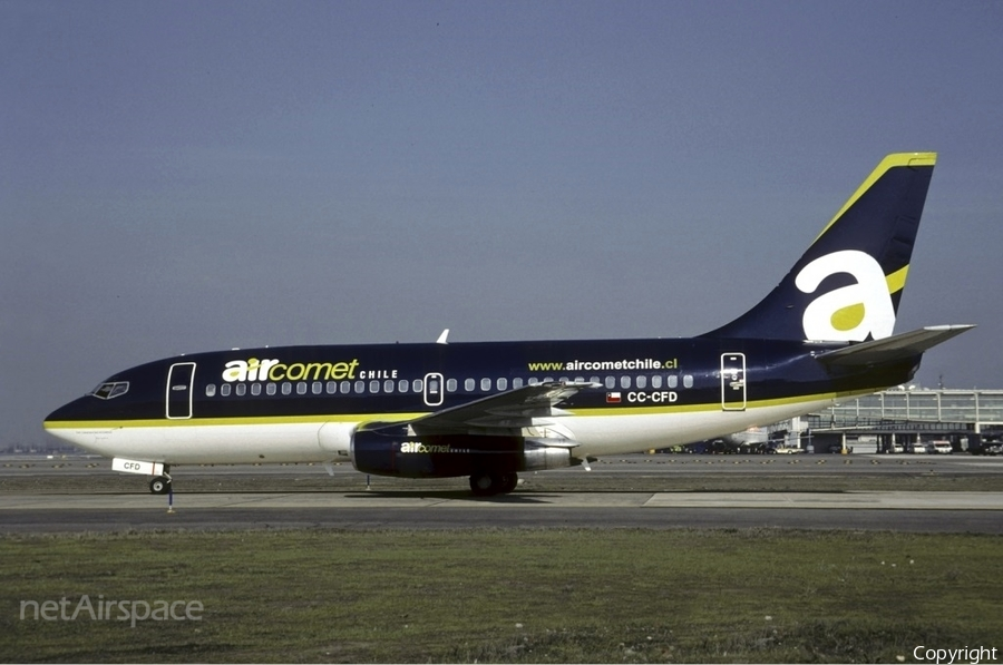 Air Comet Chile Boeing 737-2T7(Adv) (CC-CFD) | Photo 44665