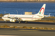 Royal Air Maroc Boeing 737-8B6 (CN-RGM) at  Gran Canaria, Spain