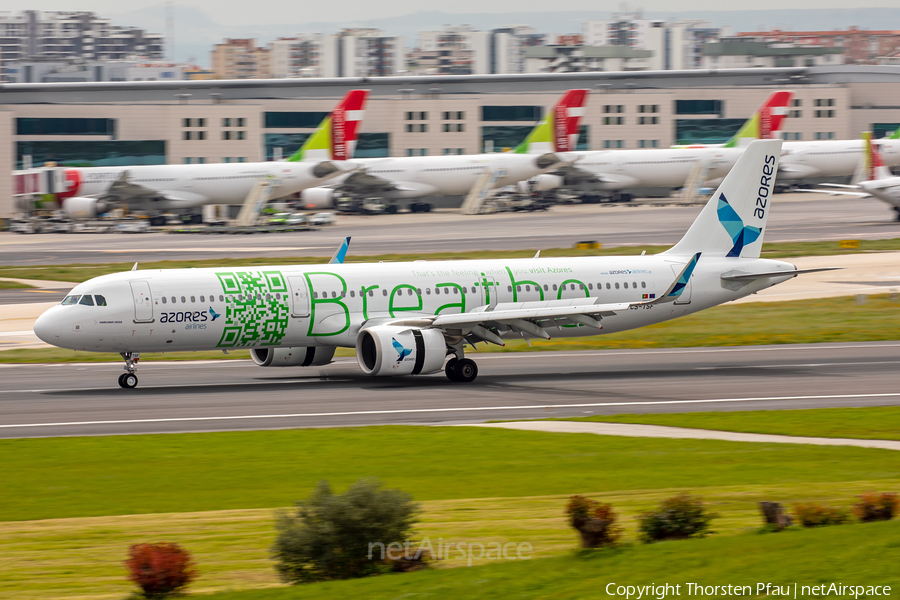 Azores Airlines Airbus A321-253N (CS-TSF) | Photo 368526