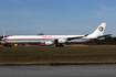 China Eastern Airlines Airbus A340-642 (D-AAAZ) at  Schwerin-Parchim, Germany