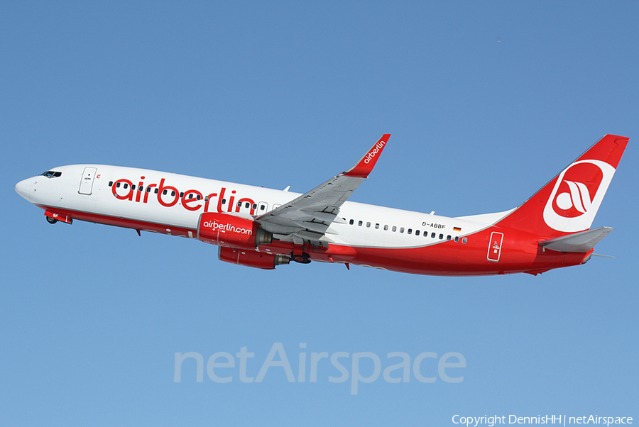 Air Berlin Boeing 737-86J (D-ABBF) | Photo 407275