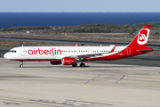 Air Berlin Airbus A321-211 (D-ABCL) at  Gran Canaria, Spain