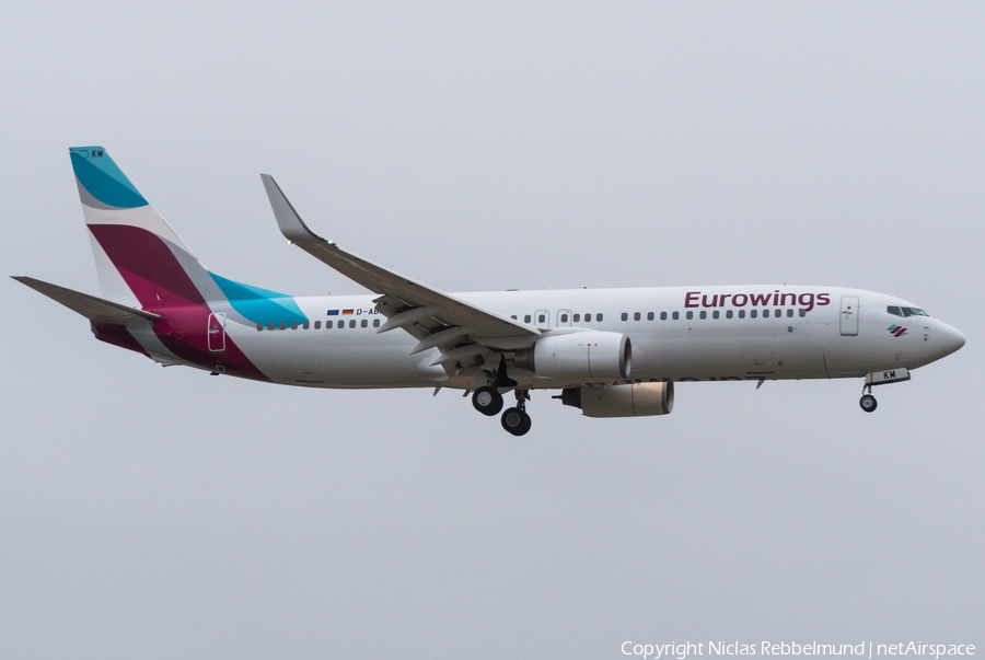 Eurowings (TUIfly) Boeing 737-86J (D-ABKM) | Photo 298194