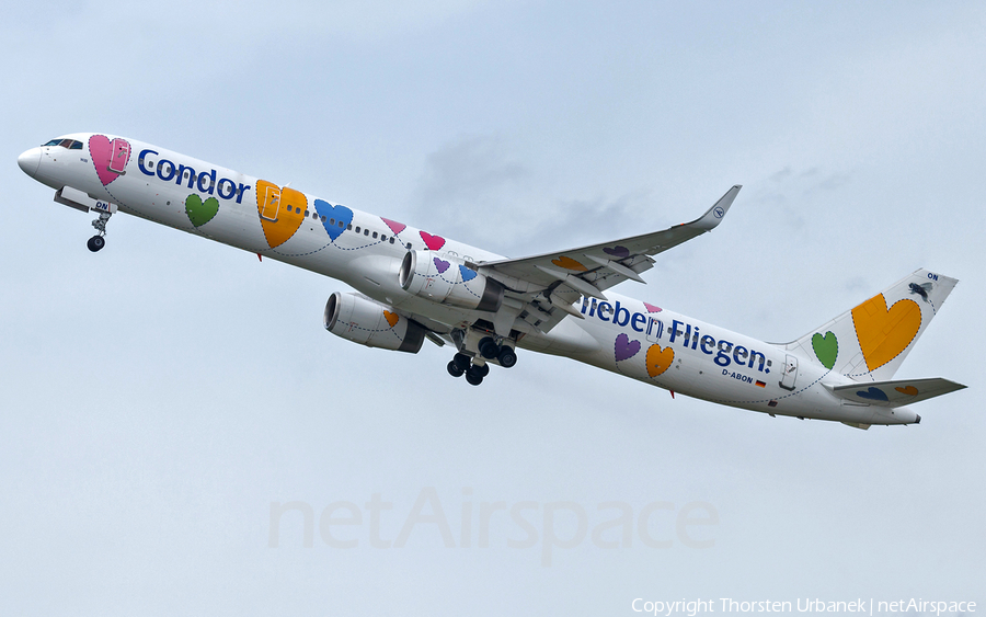Condor Boeing 757-330 (D-ABON) | Photo 418789