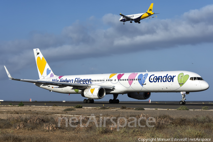 Condor Boeing 757-330 (D-ABON) | Photo 191170