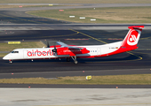 Air Berlin (LGW) Bombardier DHC-8-402Q (D-ABQJ) at  Dusseldorf - International, Germany