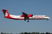 Air Berlin (LGW) Bombardier DHC-8-402Q (D-ABQJ) at  Hamburg - Fuhlsbuettel (Helmut Schmidt), Germany