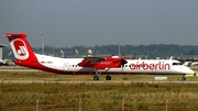 Air Berlin (LGW) Bombardier DHC-8-402Q (D-ABQJ) at  Stuttgart, Germany