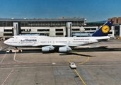 Lufthansa Boeing 747-430(M) (D-ABTE) at  Frankfurt am Main, Germany