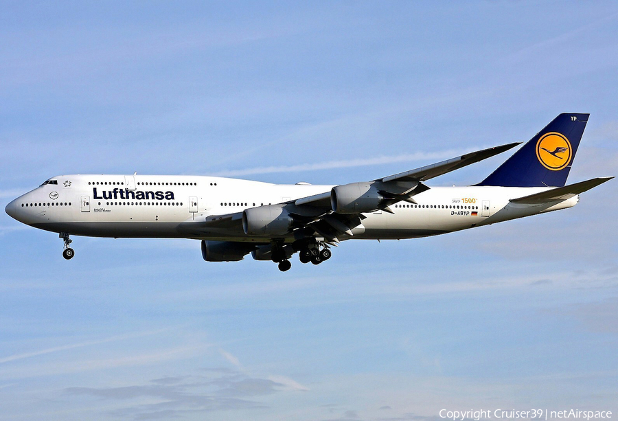Lufthansa Boeing 747-830 (D-ABYP) | Photo 77163