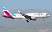 Eurowings Airbus A320-214 (D-AEWQ) at  Gran Canaria, Spain