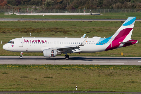 Eurowings Airbus A320-214 (D-AEWU) at  Dusseldorf - International, Germany