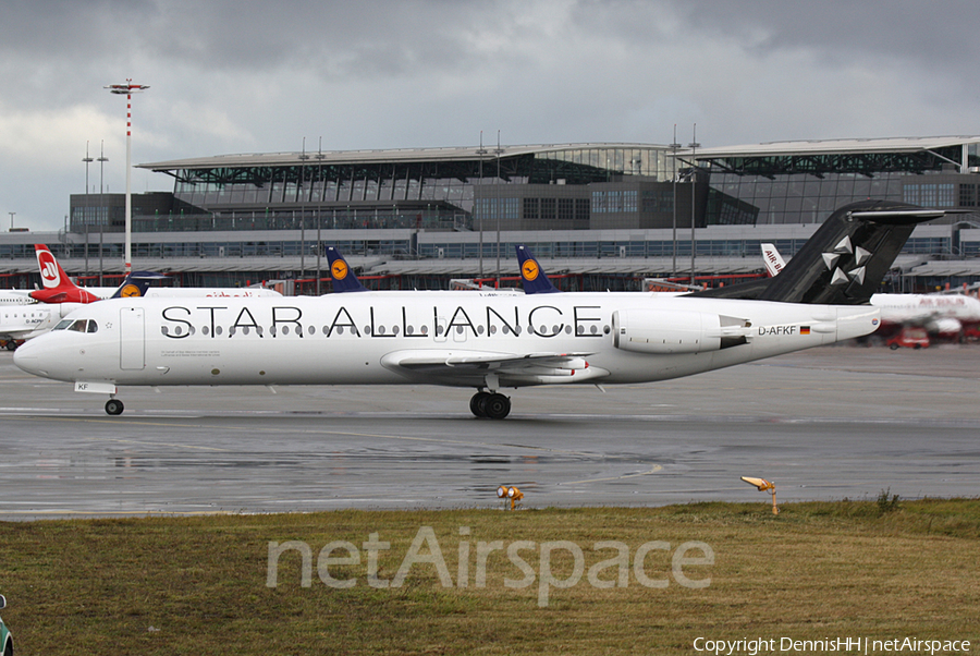 Contact Air Fokker 100 (D-AFKF) | Photo 401246
