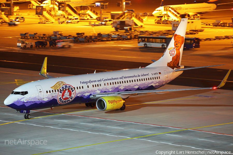 TUIfly Boeing 737-8K5 (D-AHFR) | Photo 395239