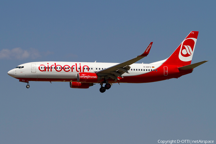 Air Berlin Boeing 737-8K5 (D-AHFS) | Photo 367600