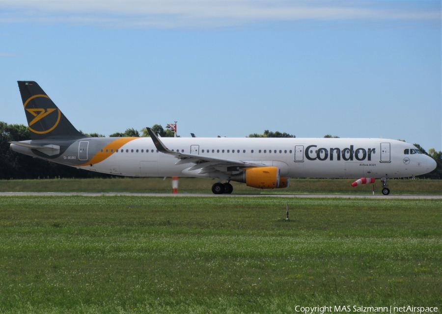 Condor Airbus A321-211 (D-AIAI) | Photo 393537