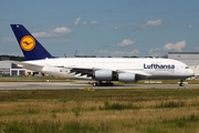 Lufthansa Airbus A380-841 (D-AIMH) at  Hamburg - Finkenwerder, Germany