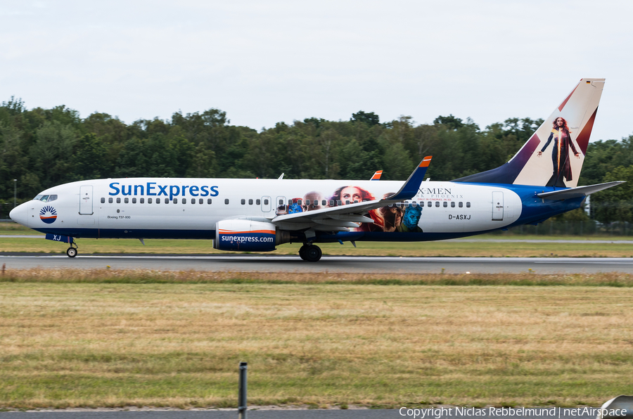 SunExpress Germany Boeing 737-86N (D-ASXJ) | Photo 335509