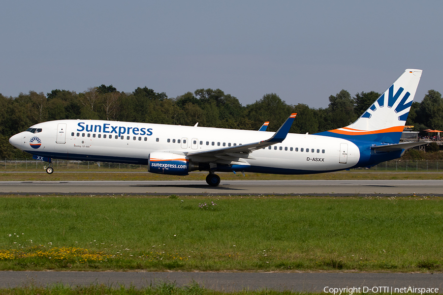 SunExpress Germany Boeing 737-8AS (D-ASXX) | Photo 344432