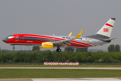 TUIfly Boeing 737-8K5 (D-ATUC) at  Dusseldorf - International, Germany