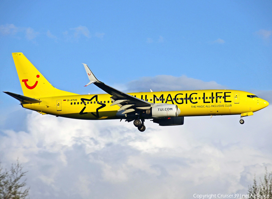 TUIfly Boeing 737-8K5 (D-ATUG) | Photo 154781