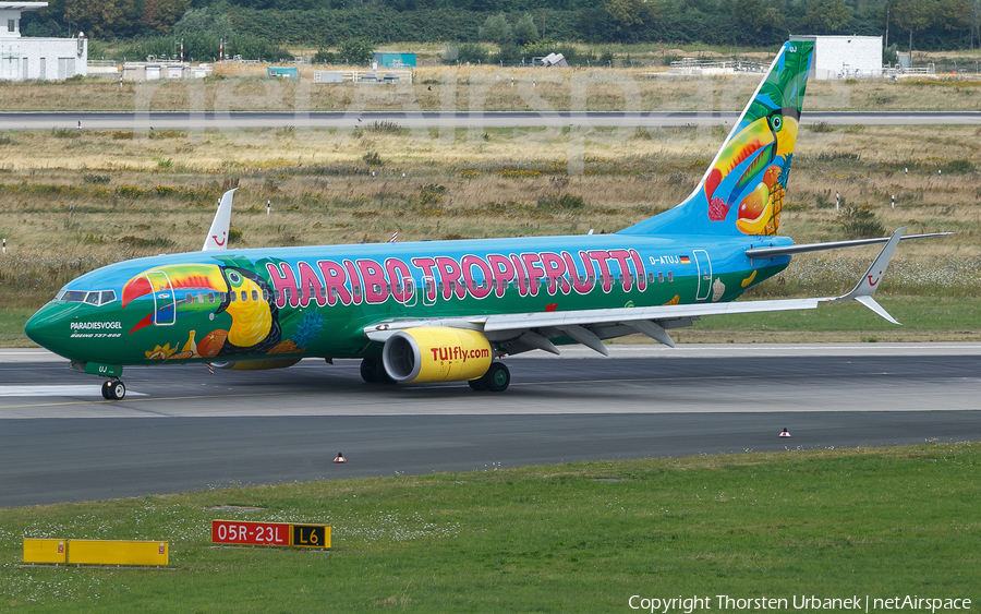 TUIfly Boeing 737-8K5 (D-ATUJ) | Photo 378602