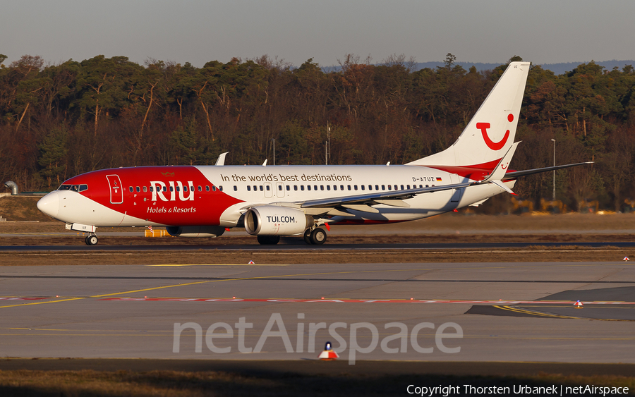 TUIfly Boeing 737-8K5 (D-ATUZ) | Photo 439729