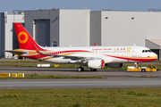 Chengdu Airlines Airbus A320-214 (D-AUAH) at  Hamburg - Finkenwerder, Germany