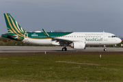 SaudiGulf Airlines Airbus A320-251N (D-AUAM) at  Hamburg - Finkenwerder, Germany